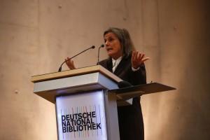 © Bundesregierung/Orlowski - Iris Radisch, Jury-Vorsitzende Deutscher Buchhandlungspreis, Ressortleiterin Feuilleton DIE ZEIT