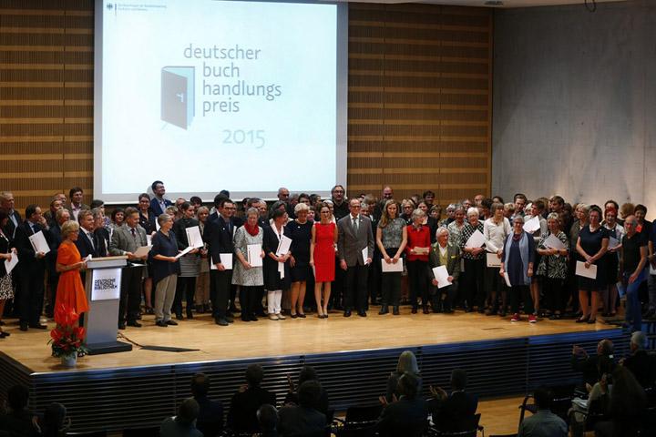 Preisträger Deutscher Buchhandlungspreis 2015 - © Bundesregierung/Orlowski