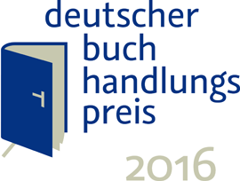 Logo Deutscher Buchhandlungspreis 2016