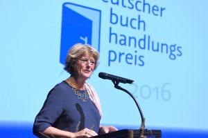 Monika Grütters (BKM): Verleihung des Buchhandlungspreises in Heidelberg 2016. © Bundesregierung / Baumann