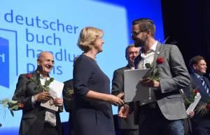 Verleihung des Buchhandlungspreises in Heidelberg 2016. © Bundesregierung / BaumannVerleihung des Buchhandlungspreises in Heidelberg 2016. © Bundesregierung / Baumann