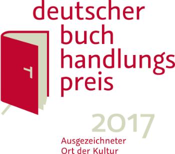 Logo Deutscher Buchhandlungspreis 2017