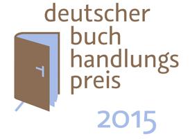 Logo Deutscher Buchhandlungspreis 2015