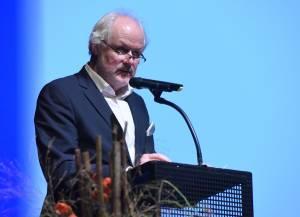 Hans Frieden, Verleihung des Buchhandlungspreises in Heidelberg 2016, © Bundesregierung / Baumann