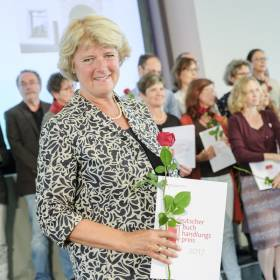 StM Monika Grütters (BKM): Verleihung Deutscher Buchhandlungspreis am 31.08.2017 in Hannover, Schloss Herrenhausen Foto: © Kai-Uwe Knoth Termin-Nr. 188622