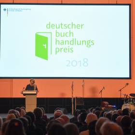 Preisverleihung Deutscher Buchhadlungspreis StM Monika Grütters (BKM), © Bundesregierung / Zucchi.