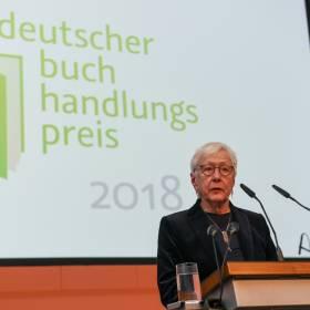 Preisverleihung Deutscher Buchhadlungspreis, Rede Frau Laaff.