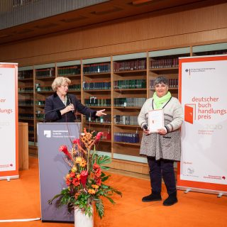 Verleihung Deutscher Buchhandlungspreis 2020 in der Staatsbibliothek Unter den Linden, Berlin © Lene Münch
